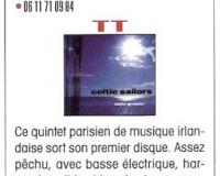 chronique cd - trad mag